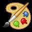 application, gnome, graphics icon