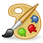 applications, gnome, 64, graphics icon