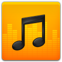 Music, Yellow icon