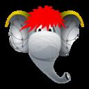 elephant,friend icon