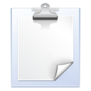 notes, edit, paste icon