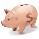 bank, piggy, savings, money icon