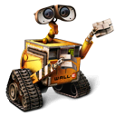 walle, wall-e, robot, pixar icon