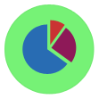 analytics, statistics, presentation, marketing, business, analysis, graphs icon