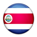 Costa, Flag, Of, Rica icon