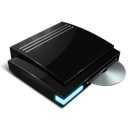 ps, rom, playstation 3, dvd icon