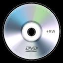 rw, dvd, disc icon