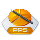 Powerpoint, Pps icon