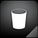 trashcan,empty,shadow icon