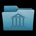 Folder, Library, Mac icon
