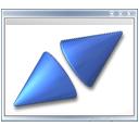 window, fullscreen icon