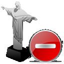 cristoredentor, remove, delete, del icon
