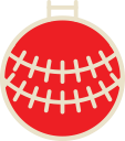 christmas, decoration, ball, xmas icon