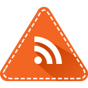 colorful, app, rss reader, rss, triangle, news, social icon