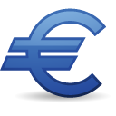 euro, money, 05 icon