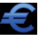 euro, money, 05 icon
