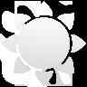 sun, white icon