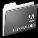 flex, adobe, folder, builder icon