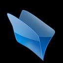 Bleu, Dossier icon