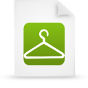 file, document, paper, green icon