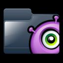 alien, folder icon