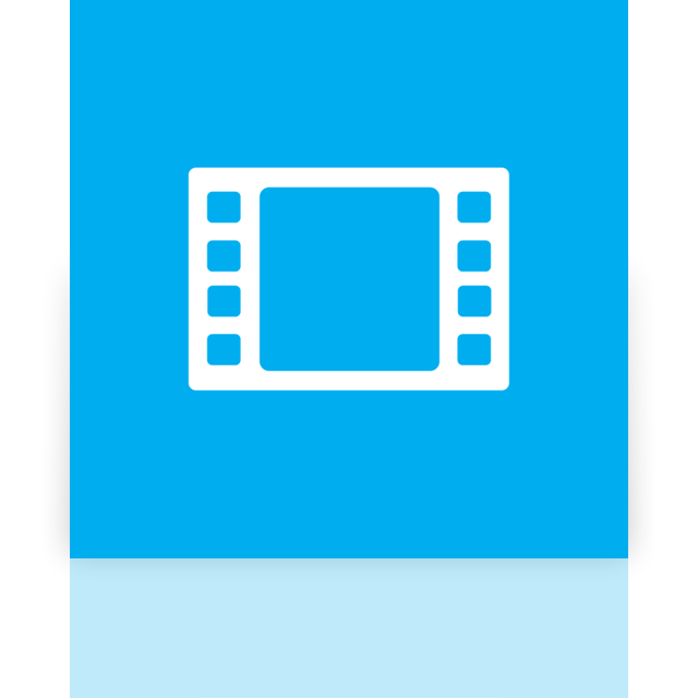 mirror, video icon