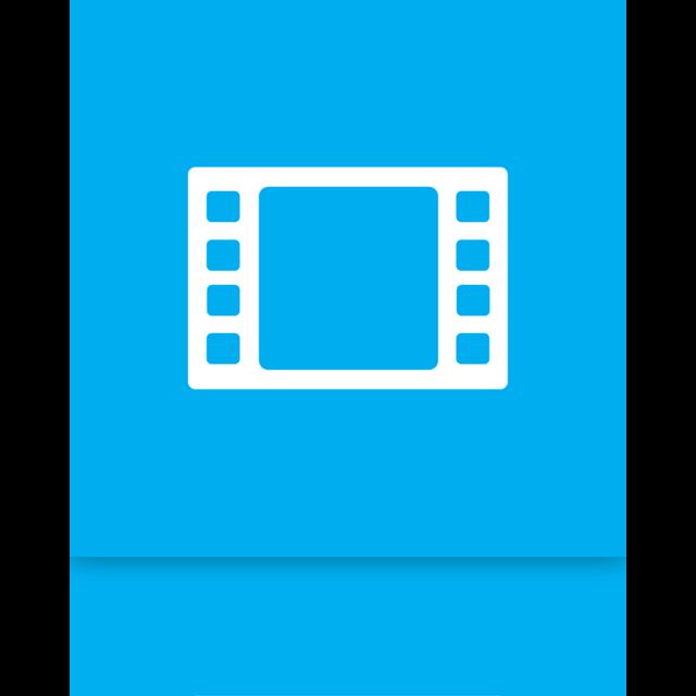 mirror, video icon