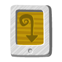 tail, desert, file icon