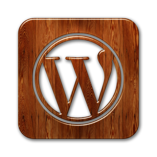 wordpress, logo, square icon