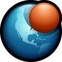 globe, web, network, world, pin, location icon