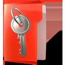 Folder, Key, Secure icon