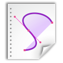 oasis, open document, application, graphics icon