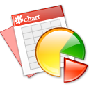 kchart, marketing, sheet, planning, spreadsheet icon