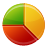 graph, pie, chart icon