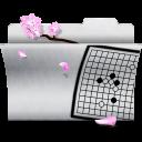 gaming, game, white, folder icon