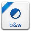 b amp w icon
