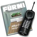 farni, phone, magazine, call, catalogue icon