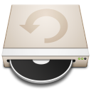 drive, restore icon