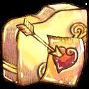 folder, fav icon