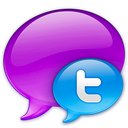twitter, social, blue, sn, small, logo, social network icon