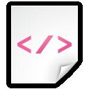 Application, Code, Html, Script, Source, Xml icon