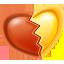 heart, valentine, love icon