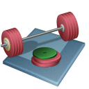 px, weightlifting icon