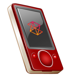 rouge, zune icon