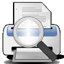 printer, file, paper, preview, document, print icon