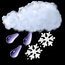 snow, slush icon