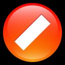 button, stop, no, cancel, close icon