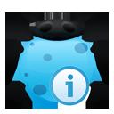 info, bug icon