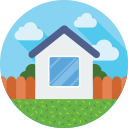 real, home, building, estate, house icon