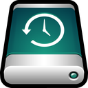 drive, back up, storage, machine, external, time, backup icon